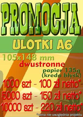 ulotki promocje druk Lublin